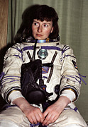 British Portraits Posters - Helen Sharman, British Astronaut Poster by Ria Novosti