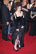 Academy Awards Oscars Prints - Helena Bonham Carter Wearing A Colleen Print by Everett