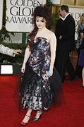 Tulle Prints - Helena Bonham Carter Wearing A Viviene Print by Everett