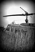 Indiana Photography Posters - Helicopter Of War Poster by Lora Mercado