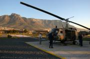 Cape Town Framed Prints - Helicopter tours of Cape Town and Table Mountain Framed Print by Andy Smy