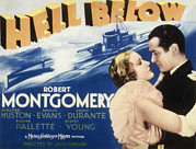 Montgomery Prints - Hell Below, Madge Evans, Robert Print by Everett