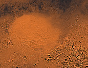 Impact Metal Prints - Hellas Planitia Region Of Mars Metal Print by Stocktrek Images