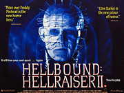 Horror Movies Posters - Hellbound Hellraiser Ii, Doug Bradley Poster by Everett