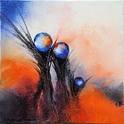 Drops Paintings - Helleau 7 by Francoise Dugourd-Caput