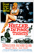 Films By George Cukor Prints - Heller In Pink Tights, Sophia Loren Print by Everett
