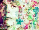 Flower Power Art - Hello Goodbye by Paul Lovering
