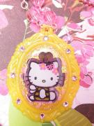 Kitty Jewelry - Hello Kitty in Bumble Bee Costume Cameo by Razz Ace