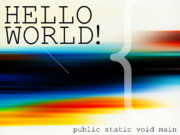 Haze Digital Art Prints - Hello World Print by Horacio Martinez