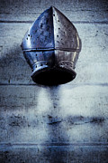 Knights Photos - Helmet by Lars Hallstrom
