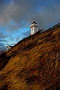 Helnaes Lighthouse Print by Robert Lacy