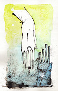 Hands Mixed Media Prints - Help Print by Mark M  Mellon