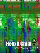 Help Save An Orphan Print by Fania Simon