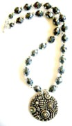Stars Jewelry - Hematite with Stars by Pat Stevens