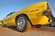 Chrysler Digital Art Originals - Hemi Cuda - Ready for Take Off by Gordon Dean II