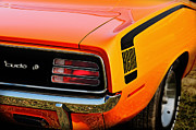 Mopar Metal Prints - Hemi Cuda Metal Print by Thomas Schoeller