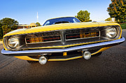 Mopar Metal Prints - Hemicuda - 1970 Metal Print by Gordon Dean II
