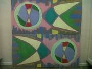 Featured Reliefs Originals - Hemispheres by Forrest Kelley