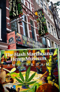 Hash Prints - Hemp Museum Print by Harry Spitz