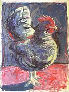 Hen Print by Mary McInnis