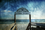 Seascape Posters - Henderson Beach State Park Florida Poster by Susanne Van Hulst