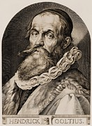 Printmaking Prints - Hendrik Goltzius 1558-1617 Print by Everett