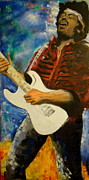 Jimmy Hendrix Paintings - Hendrix by Joel Vargas