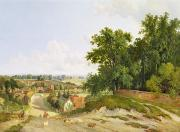 Country Lane Prints - Henley on Thames Print by Arthur Gilbert