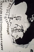 Bukowski Paintings - Henry Chinaski by B T