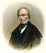 Statesman Framed Prints - Henry Clay (1777-1852) Framed Print by Granger
