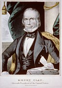 Elections Framed Prints - Henry Clay 1777-1852 Ran For President Framed Print by Everett