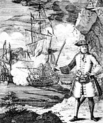 Pirate Ship Posters - Henry Every C. 1653-c. 1712, Notorious Poster by Everett