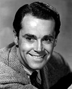 Fonda Framed Prints - Henry Fonda, 1942 Framed Print by Everett