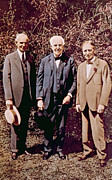 Henry Ford, Thomas Alva Edison, Harvey Print by Everett