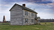 Canons Framed Prints - Henry House at Manassas Battlefield - Virginia Framed Print by Brendan Reals