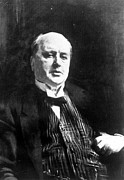 Author Metal Prints - Henry James, Aged 70, By John Singer Metal Print by Everett