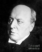 Photo-realism Photos - Henry James, American-born British by Photo Researchers