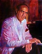 Music Legends Paintings - Henry Mancini by David Lloyd Glover