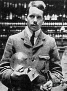 J.g Framed Prints - Henry Moseley, English Physicist Framed Print by Science Source