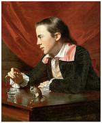 John Singleton Copley Paintings - Henry Pelham by John Singleton Copley