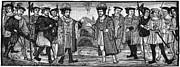 Henry Viii & Francis I Print by Granger