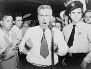 Speeches Metal Prints - Henry Wallace 1888-1965, 1948 Metal Print by Everett