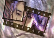 Filmstrip Framed Prints - Her highest wish Framed Print by Gun Legler