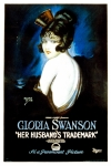 Off The Shoulder Framed Prints - Her Husbands Trademark, Gloria Swanson Framed Print by Everett