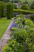 Gloucestershire Prints - Herbaceous Garden Border Print by Bob Gibbons