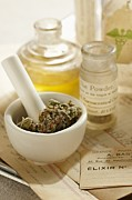 Healthcare And Medicine Posters - Herbal Medicine Poster by Lew Robertson/Fuse