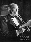 Spencer Photo Prints - Herbert Spencer, English Polymath Print by Science Source
