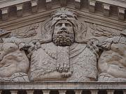 Demigod Photos - Hercules in Bas-Relief by Edan Chapman