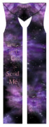 Space Tapestries - Textiles Originals - Here Am I Lord Send Me Cotton Clergy Stole by Julie Rodriguez Jones