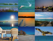 Topsail Island Posters - Here Poster by Betsy A Cutler East Coast Barrier Islands